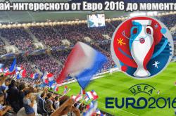 Най-интересното от Евро 2016 до момента