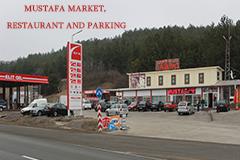 Εστιατόριο, κατάστημα και πάρκινγκ Μουσταφά σε εθνική οδό Μαρίτσα